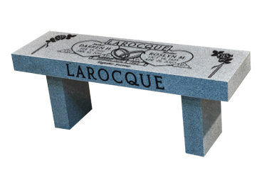 Memorial Benches | Granite Memorial Bench | Cremation Bench