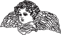 Clipart Image For Gravemarker Monument angel 08