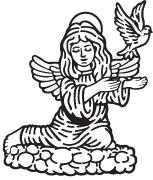 Clipart Image For Gravemarker Monument angel 16