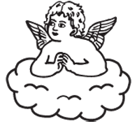 Clipart Image For Gravemarker Monument angel 19