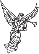 Clipart Image For Gravemarker Monument angel 23