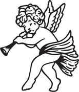 Clipart Image For Gravemarker Monument angel 30