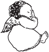 Clipart Image For Gravemarker Monument angel 35