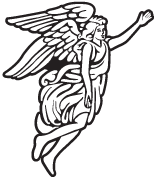 Clipart Image For Gravemarker Monument angel 37