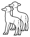 Clipart Image For Gravemarker Monument Animal 13