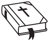 Clipart Image For Gravemarker Monument bible 01