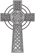 Clipart Image For Gravemarker Monument cross 15
