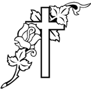 Clipart Image For Gravemarker Monument cross 38