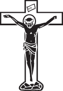 Clipart Image For Gravemarker Monument cross 40