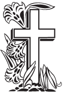 Clipart Image For Gravemarker Monument cross 41