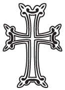 Clipart Image For Gravemarker Monument cross 43