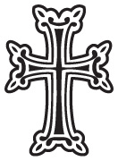 Clipart Image For Gravemarker Monument cross 44