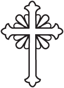 Clipart Image For Gravemarker Monument cross 48