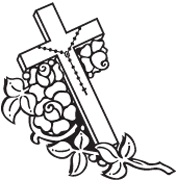 Clipart Image For Gravemarker Monument cross 58