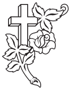 Clipart Image For Gravemarker Monument cross 66