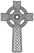 Clipart Image For Gravemarker Monument cross 67