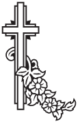 Clipart Image For Gravemarker Monument cross 70