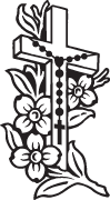 Clipart Image For Gravemarker Monument cross 77