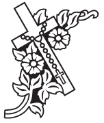 Clipart Image For Gravemarker Monument cross 78