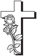 Clipart Image For Gravemarker Monument cross 81