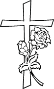 Clipart Image For Gravemarker Monument cross 83