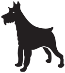 Clipart Image For Gravemarker Monument Dog 29