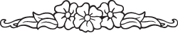 Clipart Image For Gravemarker Monument flower 30