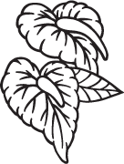 Clipart Image For Gravemarker Monument flower 42