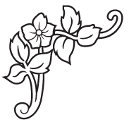 Clipart Image For Gravemarker Monument flower 47