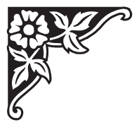 Clipart Image For Gravemarker Monument flower 50