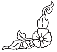 Clipart Image For Gravemarker Monument flower 51