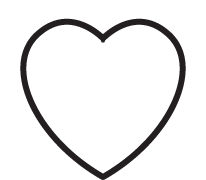 Clipart Image For Gravemarker Monument heart 01