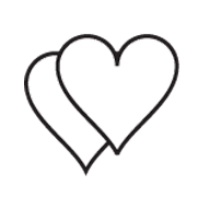 Clipart Image For Gravemarker Monument heart 02
