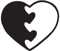 Clipart Image For Gravemarker Monument heart 04