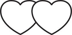 Clipart Image For Gravemarker Monument heart 05