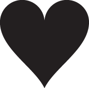 Clipart Image For Gravemarker Monument heart 07