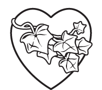 Clipart Image For Gravemarker Monument heart 10