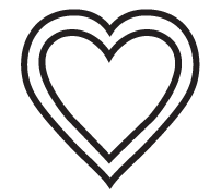 Clipart Image For Gravemarker Monument heart 13