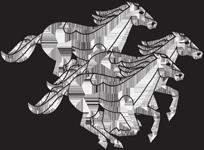Gravemarker Clip Art Examples of horses | Memorial Clip Art
