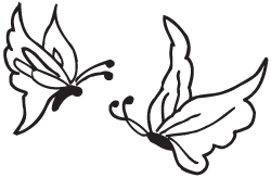 Clipart Image For Gravemarker Monument insect 04