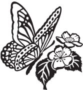 Clipart Image For Gravemarker Monument insect 05