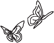 Clipart Image For Gravemarker Monument insect 06