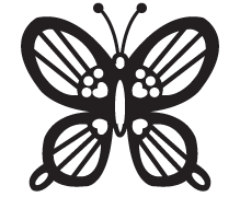 Clipart Image For Gravemarker Monument insect 07
