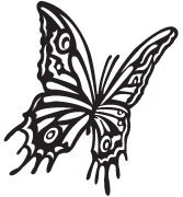 Clipart Image For Gravemarker Monument insect 08