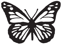 Clipart Image For Gravemarker Monument insect 09