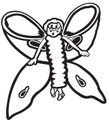Clipart Image For Gravemarker Monument insect 11