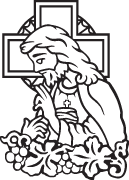 Clipart Image For Gravemarker Monument jesus 08