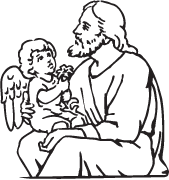 Clipart Image For Gravemarker Monument jesus 19
