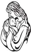 Clipart Image For Gravemarker Monument mary 03