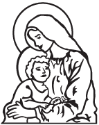 Clipart Image For Gravemarker Monument mary 05